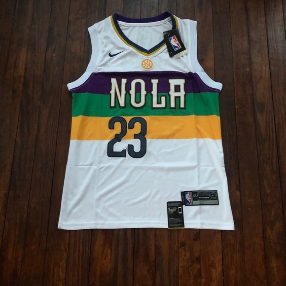2019 Anthony Davis Pelicans City Edition Jersey 7a539baa4